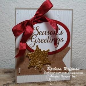 Festive Season's Greetings Card
