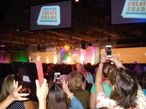 Inspire.Create.Share. – Stampin' Up! Convention 2014 – Day 2