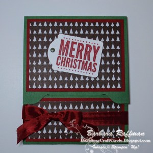 Gift Card Holder Using Envelope Punch Board
