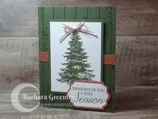 Hardwood & Winter Woods stamp sets