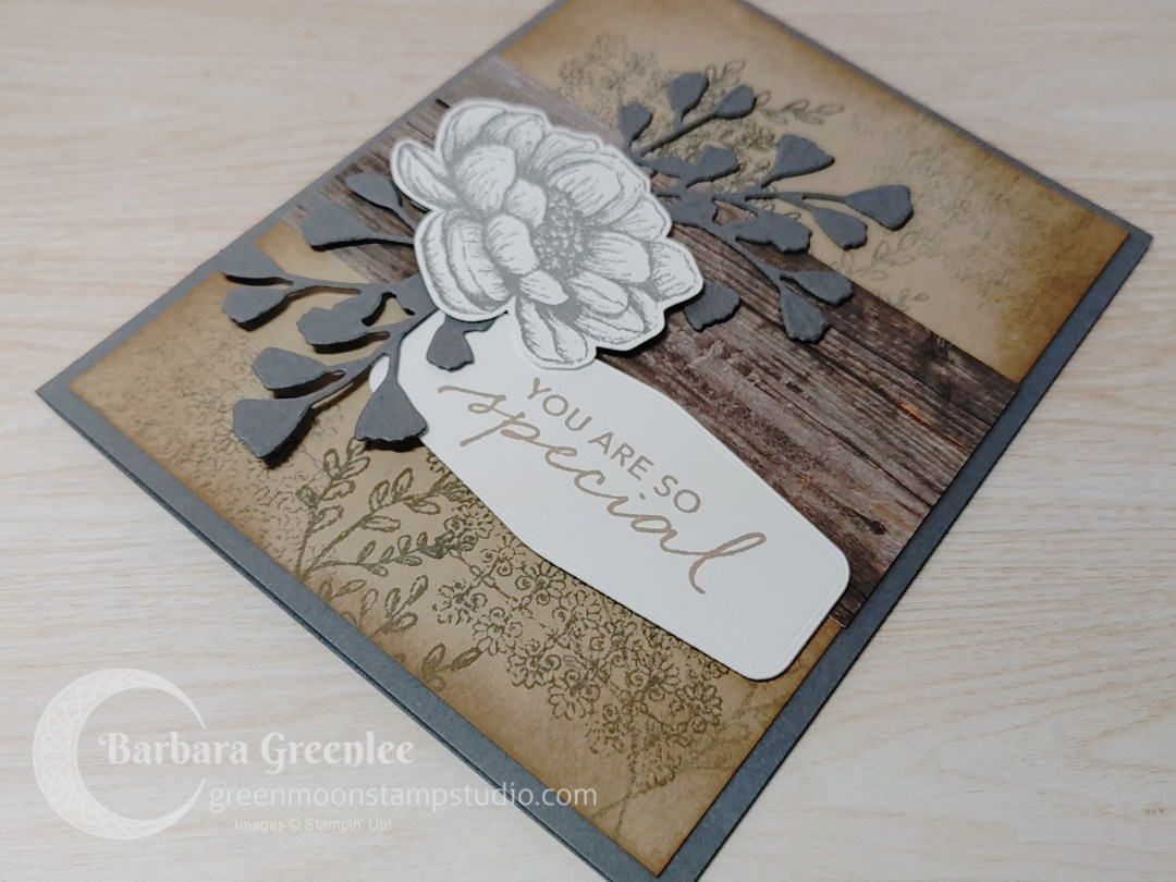 You are so special card using Tasteful Touches stamp set by Stampin' Up!