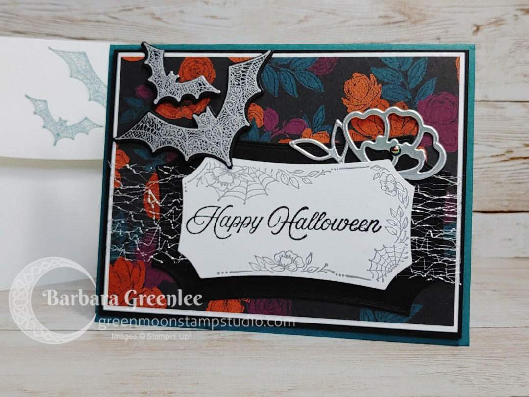 Hallows Night Magic stamp set and Halloween Magic dies.