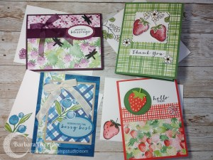 Berry Blessings & Sweet Strawberry Cards