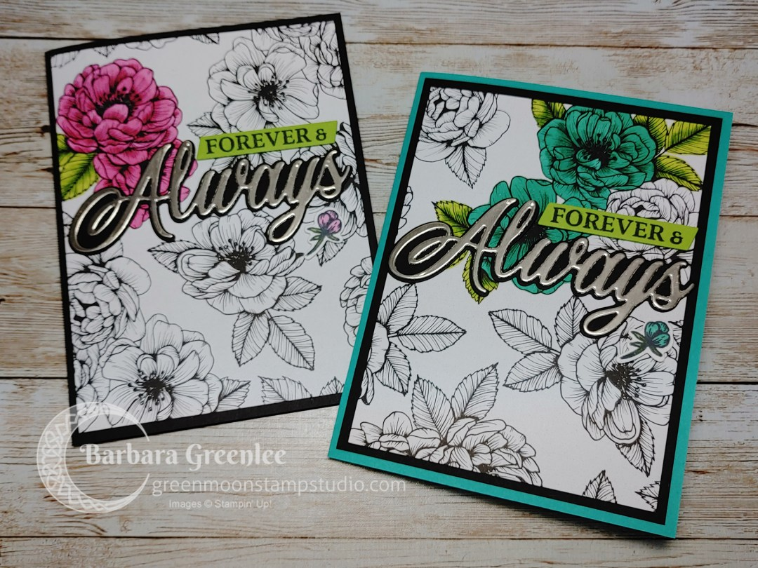 Forever & Always cards Stampin' Up!