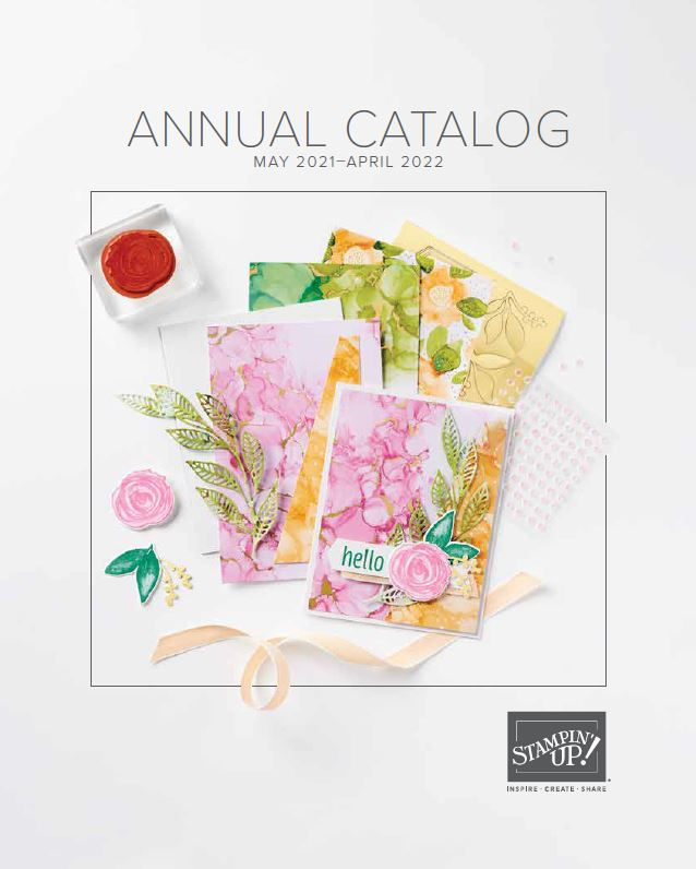 Stampin Up Catalog Cover 2021