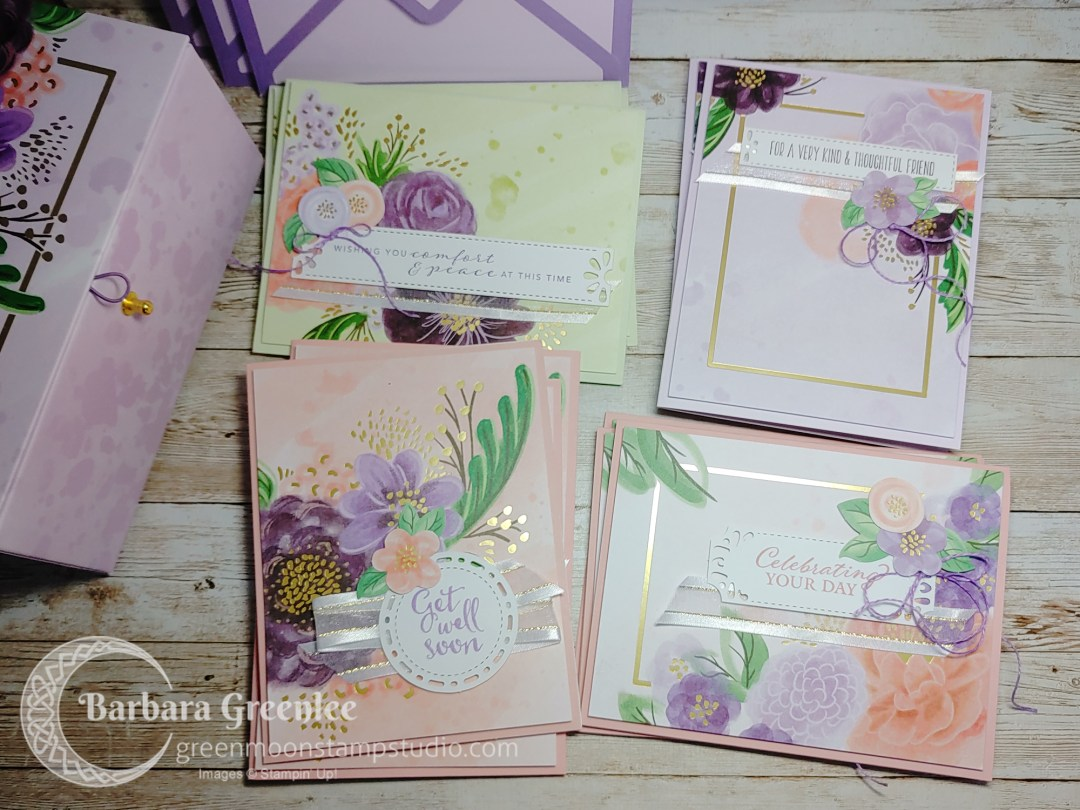Gorgeous Posies Card Kit by Stampin' Up!