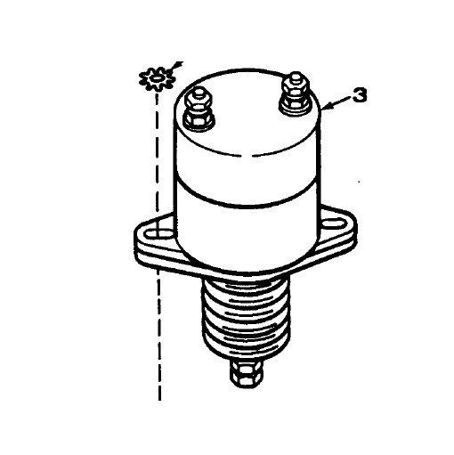 MEP002A-MEP003A 24v Fuel Stop/Shutoff Solenoid (Onan 307