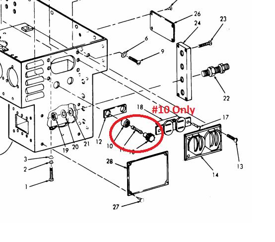 MEP016D-MEP016A Fuse Holder FHN20G NSN 5920-00-556-0144