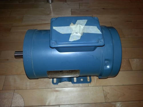small resolution of reliance 3phase 1 5hp electric motor 1