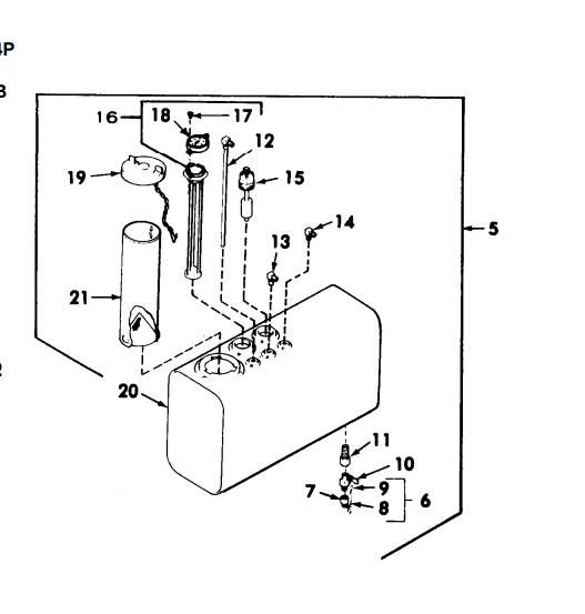 MEP003A / Universal 12.5 Gallon Diesel Fuel Tank Assembly