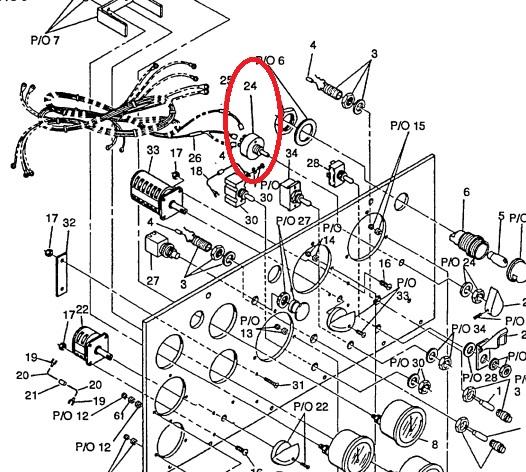 MEP802A-MEP803A Variable Resistor RV4NAYSD502A or 5905-00