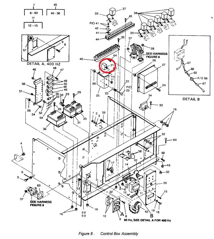 MEP802A-MEP803A Circuit Breaker W23-X1A1G-7.50 ⋆ Green