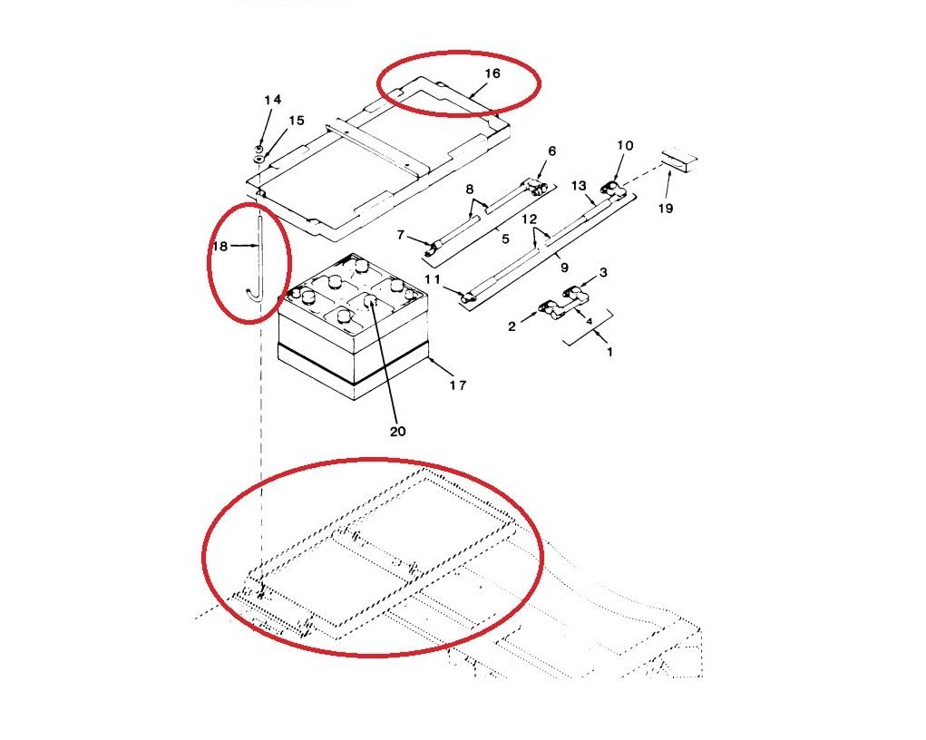 MEP003A-Battery-Top-Bottom-Frame-J-Hooks-6140-01-049-1019
