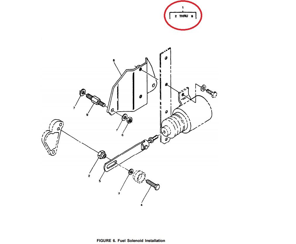 MEP802A-MEP803A KIT-F/C SOLENOID KIT Onan 186-6179 ⋆ Green