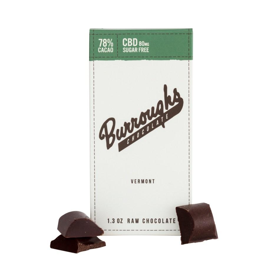 Burroughs CBD Chocolate Green Mountain Hemp Company