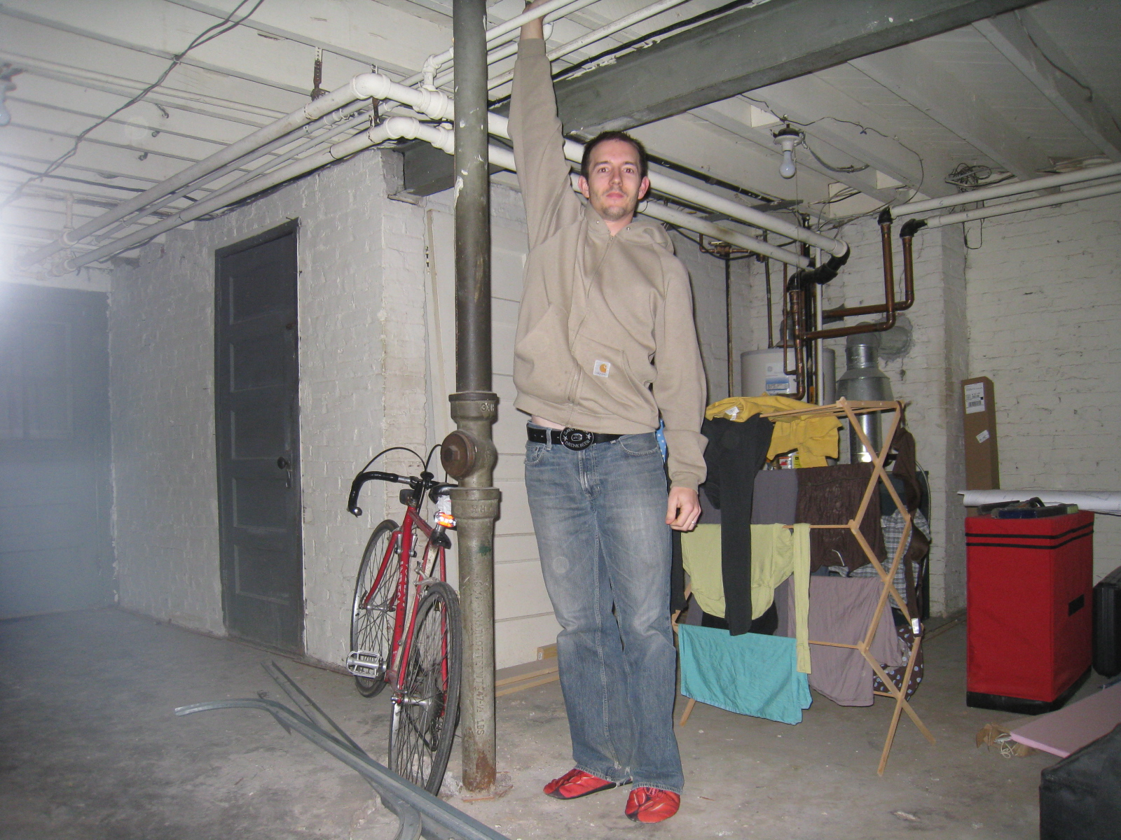 Lower The Basement Floor Green My Rowhome