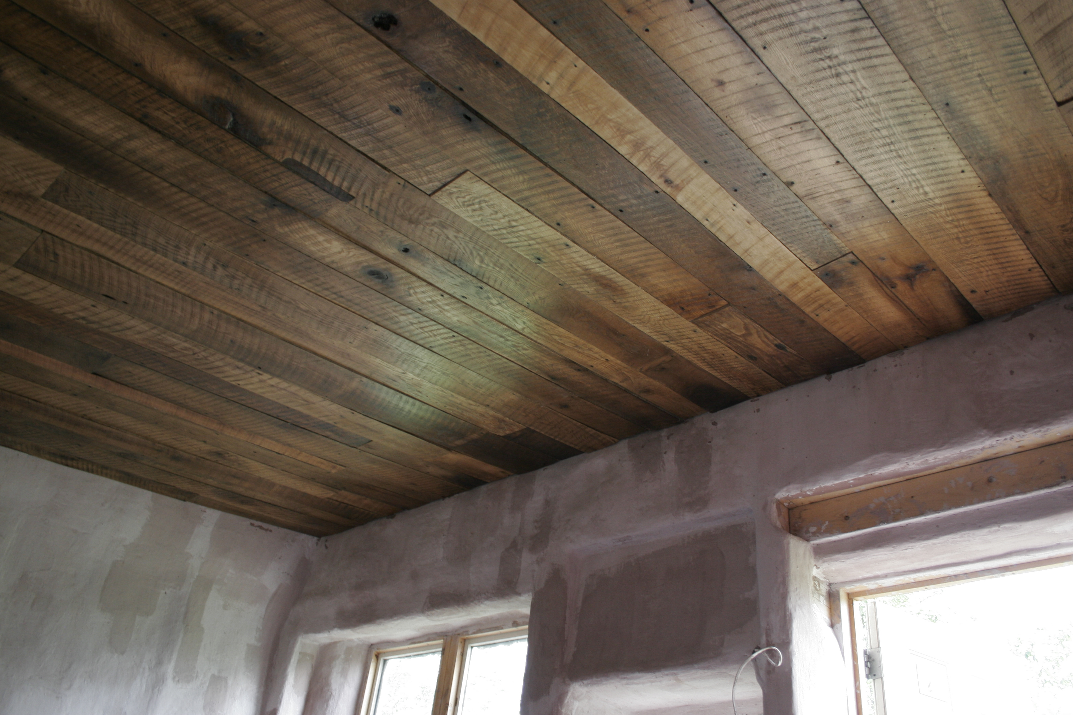 A Rustic Barn Board Ceiling For The Cottage  The Dacha