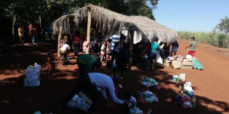 Paraguay ayuda. Foto: FAPI
