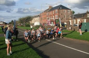 Junior Race gets under way