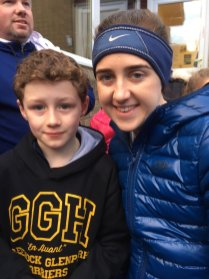 Laura Muir meets her hero