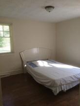 Master bedroom pre-renovation