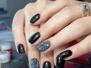 elegant fall nail art design