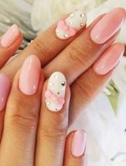 glamorous bling nail art design