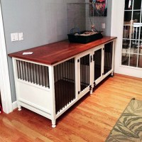 15 Fabulous DIY Dog Crate Ideas
