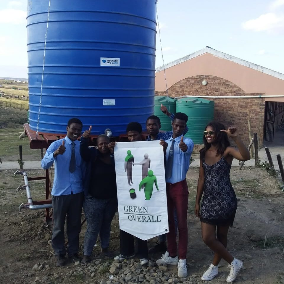 JoJo Water Tank at Ngangolwandle