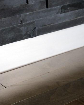 metal baseboards