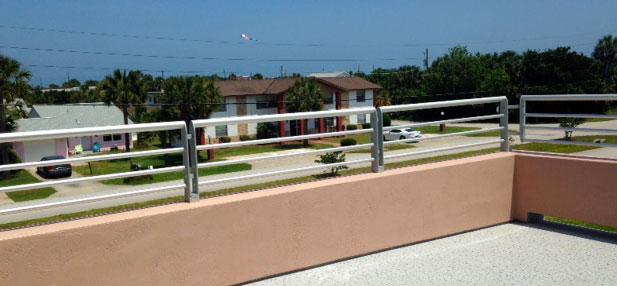 short epulum horizontal railing