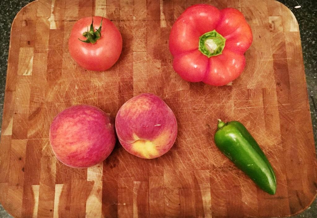 Homemade Peach Salsa