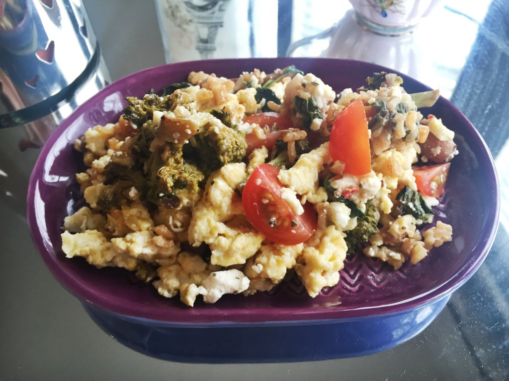 """Healthy-Homemade-Vegetarian-Fried-Rice"""
