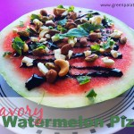 Savory Watermelon Pizza