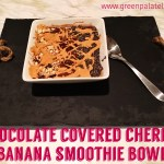 Chocolate Covered Cherry + Banana Smoothie Bowls | These vegan, easy to make smoothie bowls are packed with healthy nutrients, fats, and keep you fueled with natural proteins & ingredients