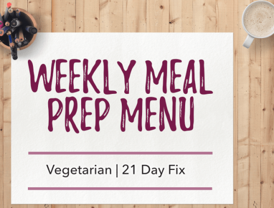 """Vegetarian-21-day-fix-recipes"""