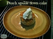 PeachUpsideDownCake