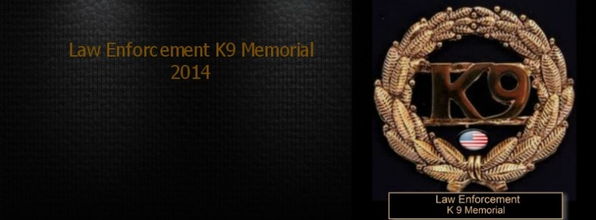 law enforcement k 9 memorial