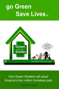 go green save lives book jacket