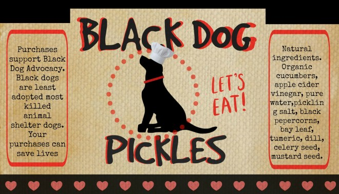 black dog pickles
