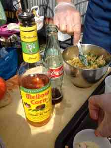 Chowder, Mexican Coke and a Shot? Shouldn't work, but does!