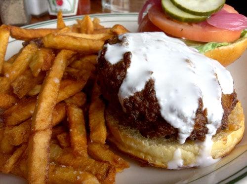 mrs. kim's veggie burger