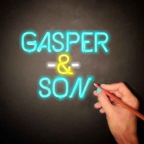 Gasper & Son in Chalk Art