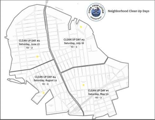Neighborhood clean up days