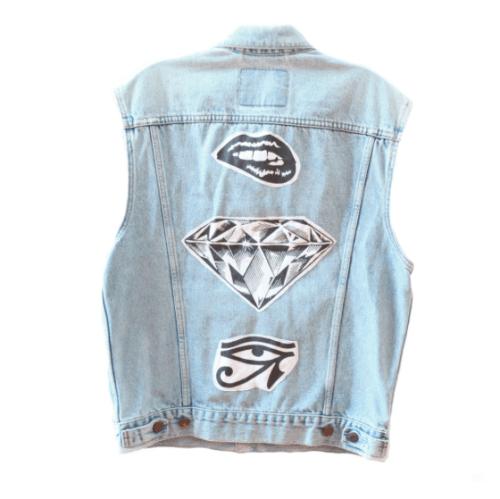 Diamond Vest, $60