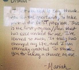 HumanateaseMariah's-Testimonial