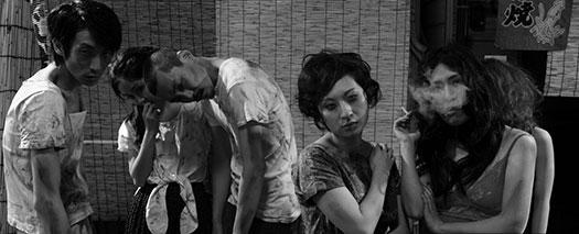 Heroin den scene in Akria Kurosawa's High & Low