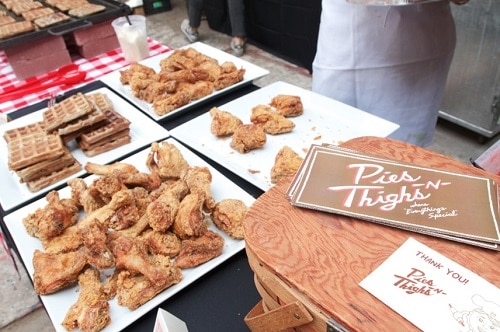 Saturday Chicken & Waffles Brunch by Pies & Thighs cred - janebruce 500