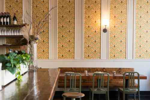 Roebling Tea Room - Douglas Lyle Thompson - Bar + Wallpaper