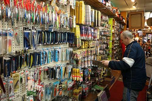 Robert Piskorski in his shop